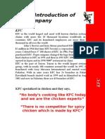 KFC New Product Plan