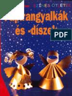 Szines Ötletek - Papír angyalkák