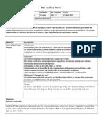 Plan de Clase Diario