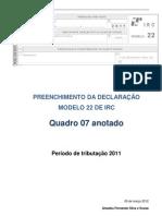 Carderno Apoio Mod 22 IRC-Março 2012