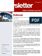 Newsletter T&P N°57 Eng