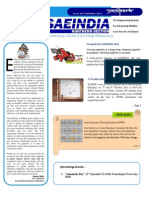SAENIS Newsletter Issue 10, September 2011 - Sampark