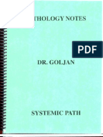 GOLJAN - Systemic Pathology Notes