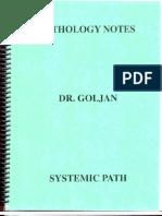 GOLJAN - Systemic Pathology Notes