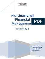 Multinational FInancial Managament Case Study 1 Report 25-02-12