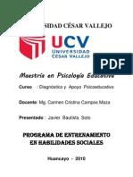 Programa de des Sociales 2