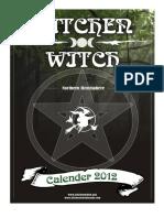Kitchen Witch Calendar 2012 NH