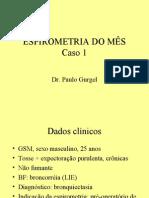 ESPIROMETRIA - Caso 1