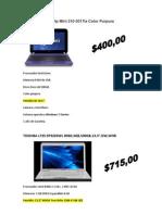 Laptop Netbook Hp Mini 210