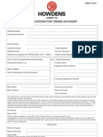 Account Form