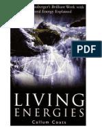 Coats & Schauberger - Living Energies - Viktor Schauberger's Brilliant Work