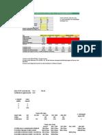 Certificazione energetica (Tariffe)