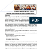 Girl Child Education Component