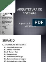 Arquitetura de Sistemas e Padroes de Projeto - Aula 01 - Parte 02