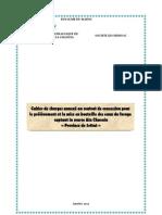 PDF CPS Annexe Au Contrat de Concession Pour Le Prelevement Et La Mise en Bouteille Des Eaux Du Forage Captant La Source Ain Chaouia Province Settat