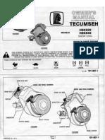 Techumseh HSK600-HSK840