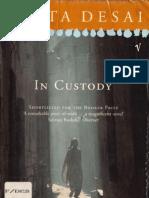 Anita Desai - In Custody