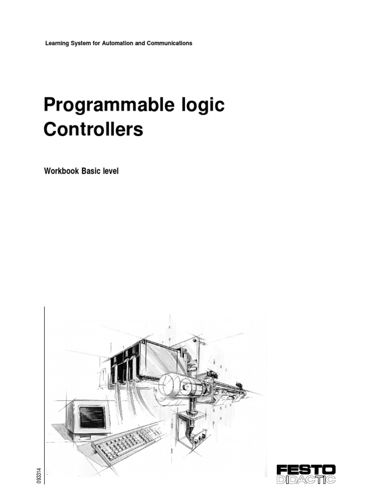 festo basic plc programmable logic controller cylinder engine festo plc text book basic level1