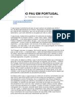O JOGO DO PAU EM PORTUGAL - Ernesto Veiga de Oliveira (1984)