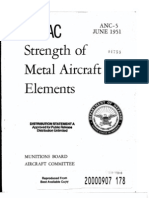 Strenght of Metal Aircraft Elements