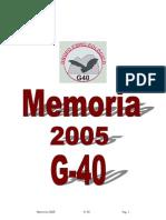 Anuario 2005 G40