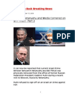 Putin vs Netanyahu and Media Cornered on 911 Truth - Part 2