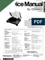 Manual Technics SL1200 MKII