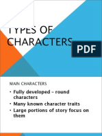 Types of Characters Ppt