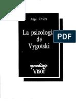 Riviere Angel - La Psicologia de Vygotsky