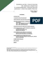 DESREGULACIÓN Y PRIVATIZACIÓN DEL MERCADO ARGENTINO DE HIDROCARBUROS