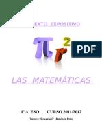TEXTO EXPOSITIVO-MATEMÁTICAS