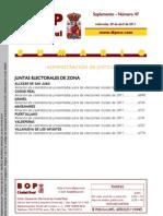 Bop Creal Elecciones 2011