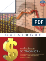Economics Case Studies Catalogues 1