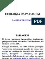 ECOLOGIA DA PAISAGEM