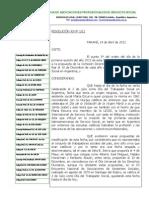 RESOLUCIÓN CAMBIO DE FECHA DÍA DEL TRABAJADOR/A SOCIAL EN ARGENTINA