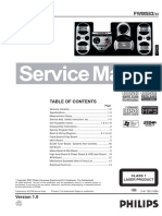Manual de Servicio Philips FWM_583-55