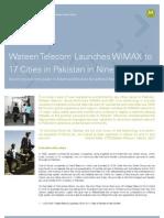 Wateen Telecom WiMAX Case Study Copy