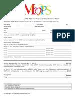 2012 Mops Mom Early Registration