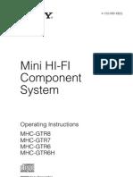 Manual Mhc Gtr8