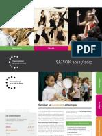 Brochure Des Conservatoires 2012 2013 2