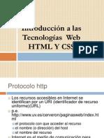 Tecnologias Web HTML y Css