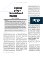 The Molecular Designing of Materials and Devices