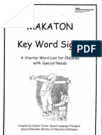 Makaton Handout