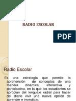 Explicación de qué es la radio escolar