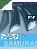 Artes Marciales-Historia de La Katana Y Las Espadas Japonesas