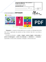 PONTUAÇÃO 2 - Ficha informativa