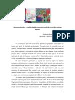 Apontamentos sobre a tradição legal portuguesa a respeito da escravidão negra na América portuguesa