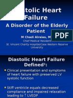 Diastolic Dysfunction Heart Failure
