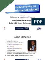 Successfully Navigating the International Job Market