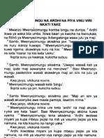 Genesis, OT - Mwani Language